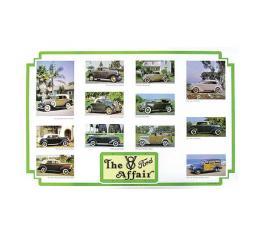 The V8 Affair Poster - 23 X 36