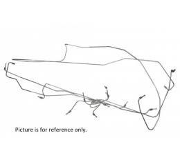 Brake Line Kit - Stainless Steel - Manual Drum Brakes - Ford Galaxie