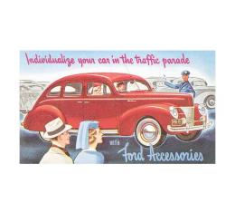 Accessory Brochure - 6 Pages - Ford