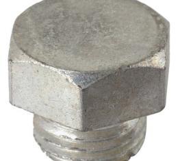 Model A Ford Zenith & Tillotson Carburetor Lower Drain Plug- Cadmium