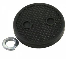 Clutch And Brake Pedal Pad - Pyramid Rubber - Ford Passenger