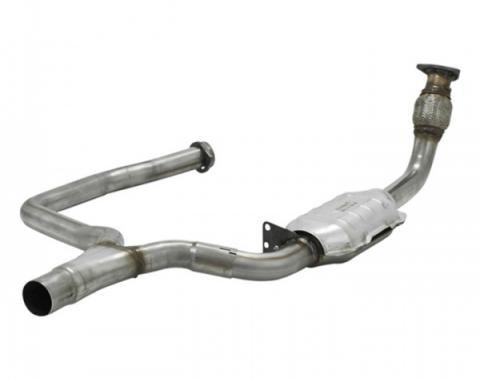 Camaro Catalytic Converter, V8, 2.25in Inlet & Outlet, Passenger Side, 1998-1999