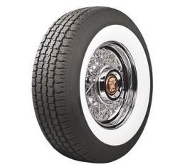 Tire - P205/75R15 - 2-3/8 Whitewall - Radial - Coker Classic