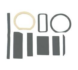 Daniel Carpenter Ford Mustang Heater Seal & Gasket Set - For Cars With Factory Air Conditioning C9ZZ-18500-A