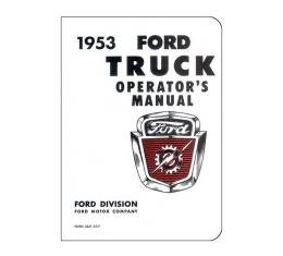 Ford Truck Operator's Manual - 64 Pages