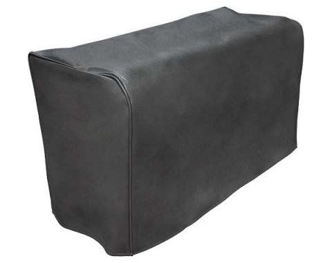 Model A Ford Trunk Cover - Black Vinyl - For Straight Back Trunks