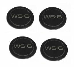 Wheel Cap Insert Set, WS6, 96-01