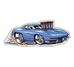 Corvette Metal Sign, 1963