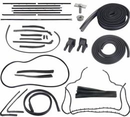 63 Galaxie Weatherstrip Kit (XL500 Convertible)