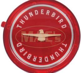 Thunderbird Red Wire Wheel Center, 1962-1963
