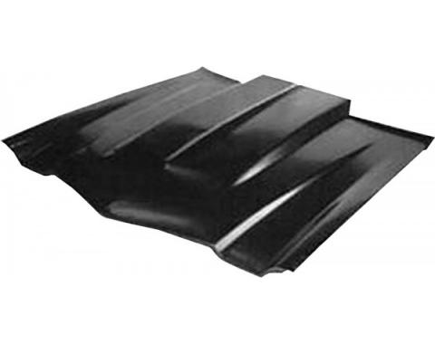 Camaro Hood, Cowl Induction, Steel, 1970-1981