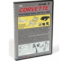 Corvette DVD, Body Repair Guide, Volume 5, 1984-1996