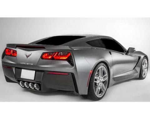 Corvette - Third Brake Light Blackout,  Acrylic, 2014-2019