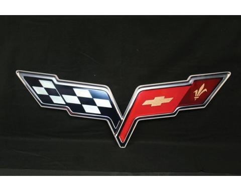 Corvette Metal Sign, 2005-2013