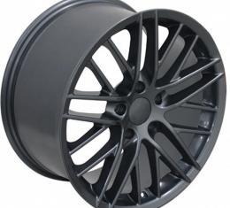 Corevtte 19 X 10 C6 ZR1 Reproduction Wheel, Gunmetal, 1988-2013