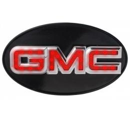 GMC Truck Hitch Cover, With GMC Engraved, Polished 1971-1987