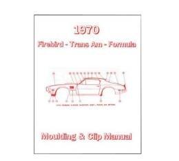 Firebird Molding And Clip Manual, 1970