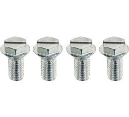 Model A Ford Windshield Stanchion Screw Set - 4 Pieces - 1931 Only