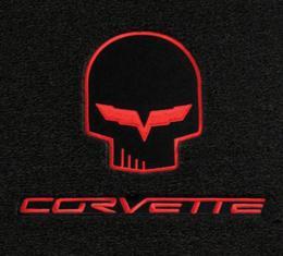 Lloyd Mats, Floor Mats With Jake / Racing Logos, Ebony  228118 Corvette 2007Late-2013