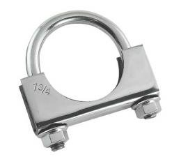 Muffler Clamp - 1-3/4 - Stainless Steel