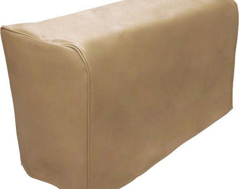 Model A Ford Trunk Cover - Tan Vinyl - For Tapered Back Trunks