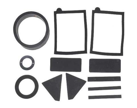 Daniel Carpenter Ford Mustang Heater Seal & Gasket Set - For Cars Without Factory Air Conditioning C9ZZ-18500-B