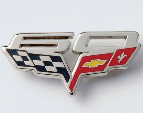 Corvette Hat Pin,60th Anniversary