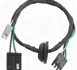 El Camino Wiper Motor Harness, Forward Lamp Harness To Wiper Motor Jumper, 231 V6, 1980