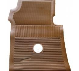 Full Size Chevy Floor Mats, Accessory, Dark Saddle, 1961-1964