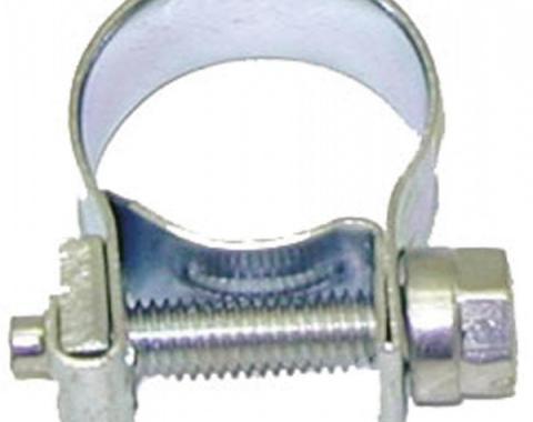 Camaro Power Steering Return Hose Clamp, Screw Type, 1967-1969