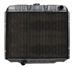 Ford Fairlane Radiator With Copper/Brass Construction, For 390 Engine, 1967