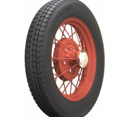 """Model A Ford Excelsior Stahl Sport Radial Tire - Tube Type - 500R-19"""" - 6 Ply - Poly Steel - 29.40"""" Overall Diameter - Blackwall"""