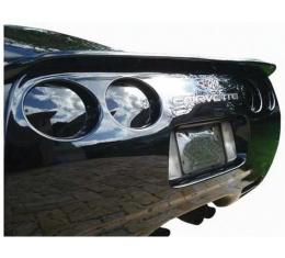 Corvette Rear 7-Piece Molded Tail Light Blackout Kit, 1997-2004