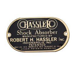 Model T Ford Hassler Shock Absorber Plate - Brass Finish