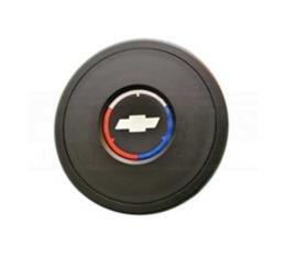 Camaro Steering Wheel Center Horn Cap, Volante S9, With Logo, 1967-2002