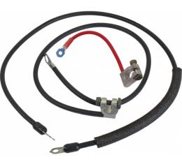 Ford Mustang Battery Cable Set - Reproduction - All 6 Cylinder Engines - All V-8 Engines Except 428 Cobra Jet V-8