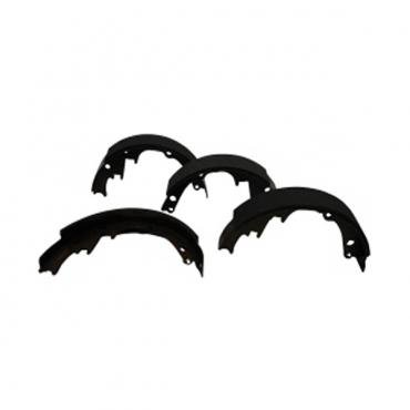 Chevy Truck Brake Shoes, Rear, 2-3/4, 1976-1977