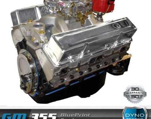 Nova 355 C.I. Blueprint Crate Engine 390HP, Roller Cam, Aluminum Heads, 1962-1979