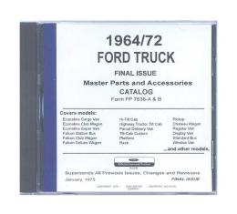 Ford Parts Text and Illustrations on CD