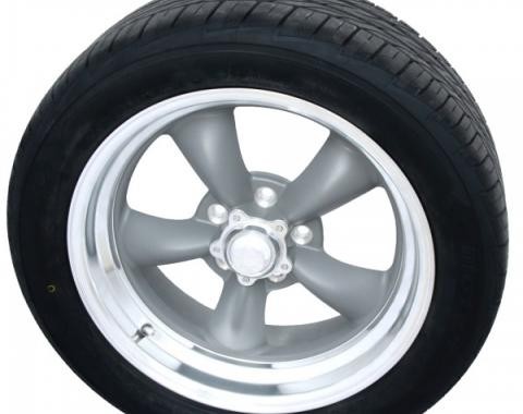 "Torq Thrust II Gray 17"" Wheels & Nitto Motivo Tires, Mounted & Balanced Pkg"