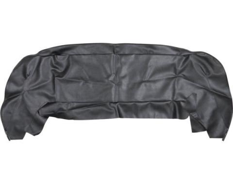 Acme Auto Headlining Convertible Top Well Liner, Black W143