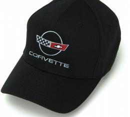 Corvette C4 Cap, Black