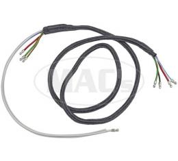 Ford Pickup Truck Headlight Wiring - 60 Long - 8 Terminals - With Turn Signal Wire