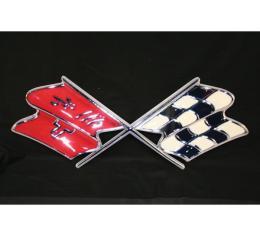 Corvette Metal Sign, 1968-1972