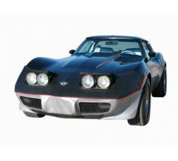 Corvette C3 Speed Lingerie Nose Mask With License Plate Window, 1975-1979
