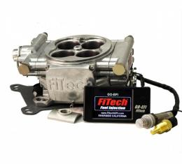 FiTech Fuel Injection 600 HP Basic Kit, Bright Finish
