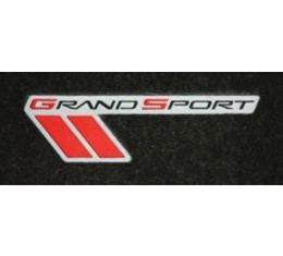 Lloyd Mats, Floor Mats With Grand Sport Logos, Red| V0102410 Corvette 2010-2013