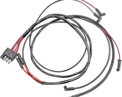 Ford Mustang Firewall To Engine Gauge Feed - V-8 With Warning Lights & 2 Speed Heater Motor