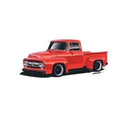 Limited Edition Print, F-100 Truck, Red, 1956