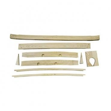 Top Wood - Roof Rib Kit - Ford 3 Window Coupe
